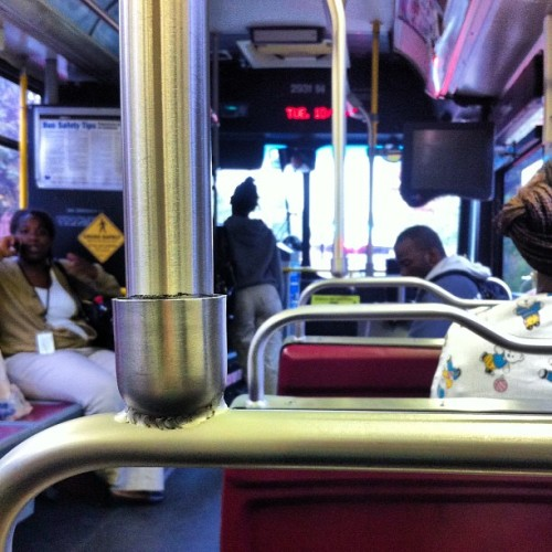Bus riding #marta  #weloveatl #atlanta