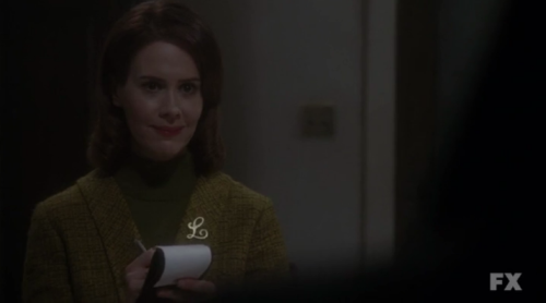 Sarah Paulson is so under-appreciated and just perfect in American Horror Story.