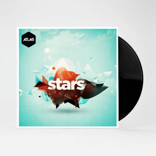 Branding + Cover art for an EP by progressive house artist - Atlas More images on Behance.