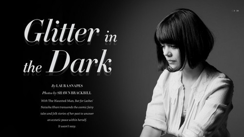 Good web design? Try Pitchfork's feature on Bat For Lashes