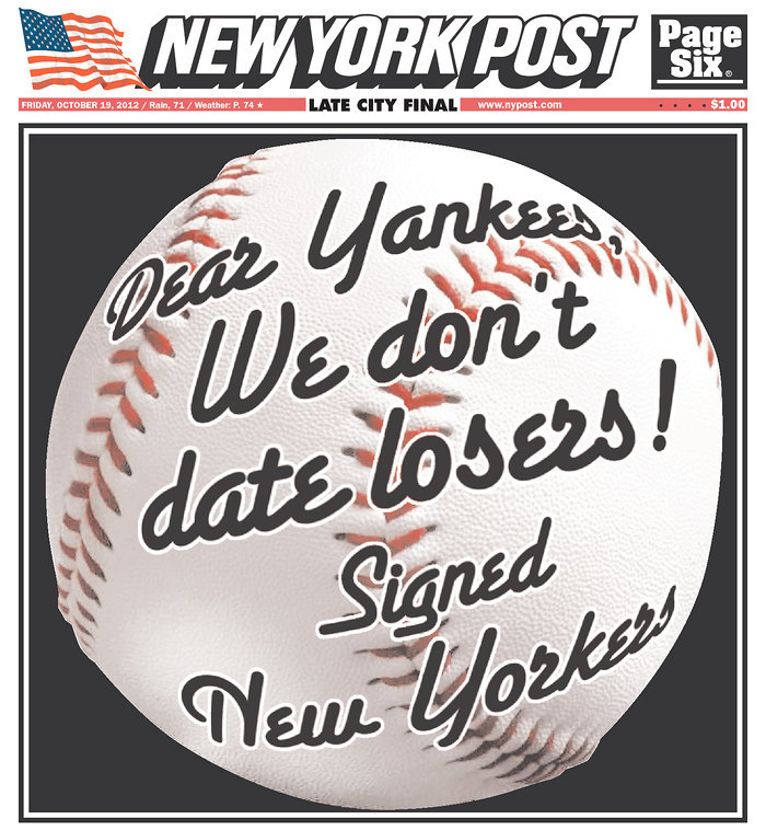Ladies, And Gentleman: Your New York Post