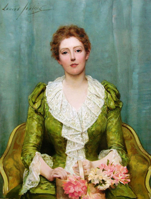 "the-garden-of-delights:    ""Serenity"" (1890) by Louise Jopling (1843-1933)."