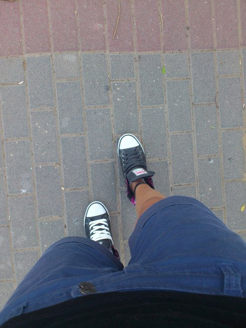 going home after school :P