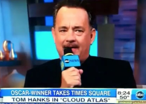 Tom Hanks dropped an F-bomb on Good Morning America today. He then apologized as if the world were coming to an end. Hilarity. Watch here.