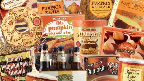 This Guy Attempts to Eat Everything Pumpkin From Trader Joe's. True American hero.