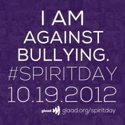 photo LGBT bullying spiritday
