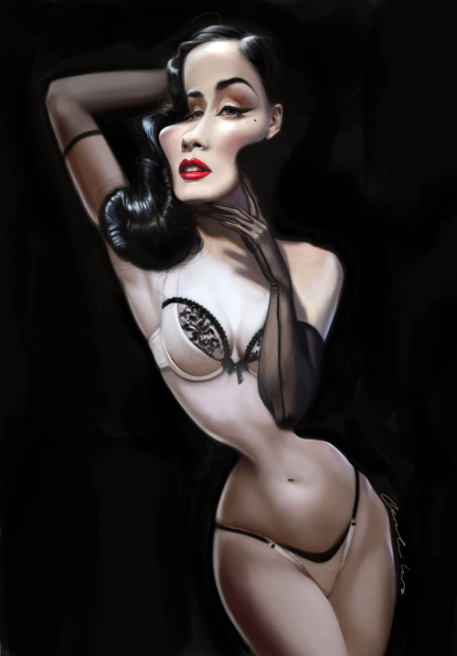 It's Friday! Here is my Dita :) Njoy!