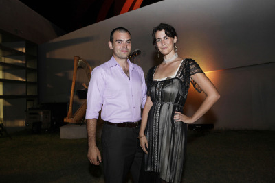 Arriving at VIP opening event HOF 2012 Holon Fashion Week 2012  Picture: Keren Lachman/Design Museum Holon,Gown: Tamar Primak, Ishtar Fashion House