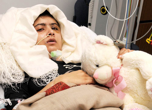 Doctors: Girl shot by Taliban able to stand, communicate (Photo: University Hospitals Birmingham NHS Foundation Trust) Malala Yousufzai, the Pakistani schoolgirl shot in the head by the Taliban, is able to stand with help and communicate, British doctors treating her severe wounds said on Friday, though she still shows signs of infection. Read the complete story.