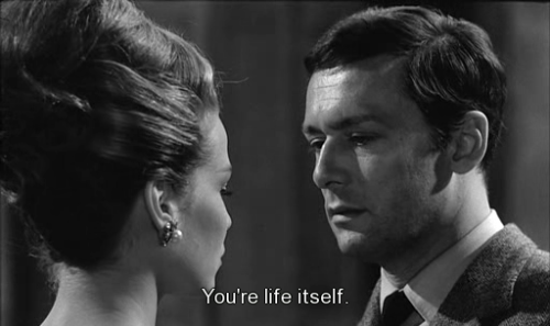 Alexandra Stewart and Maurice Ronet in Le Feu Follet (1963, dir. Louis Malle), aka A Time to Live and a Time to Die (UK), aka The Fire Within (USA)