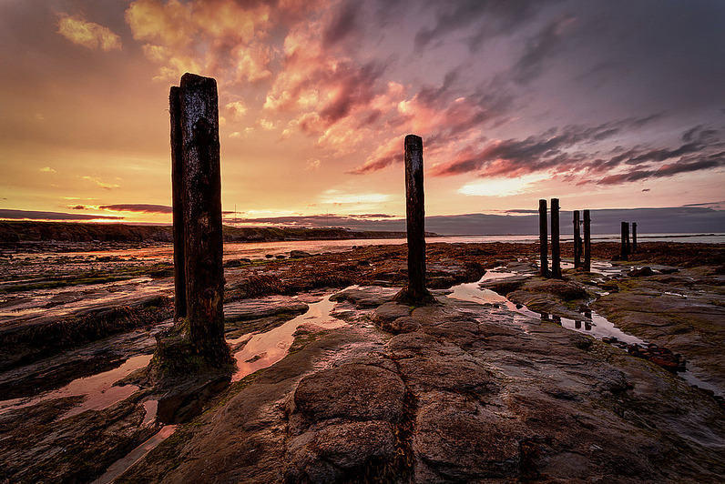 photographyweek:  Whitley Bay Sunset by Darren Irwin Aah, an image to welcome in the weekend if ever we saw one! The composition is inch-perfect, the colours are stunning and the exposure is spot-on, with the bright sky and dark foreground perfectly balanced. We love the careful placement of the reflection on the right, too. View more of Darren's photography on Flickr. Image copyright Darren and used with permission. See the world's most inspirational images every Thursday in Photography Week. Get five free issues today, risk-free, at http://bit.ly/salh2h