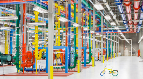 Where the Internet Lives: Behind the Scenes look at Google's data centers around the world