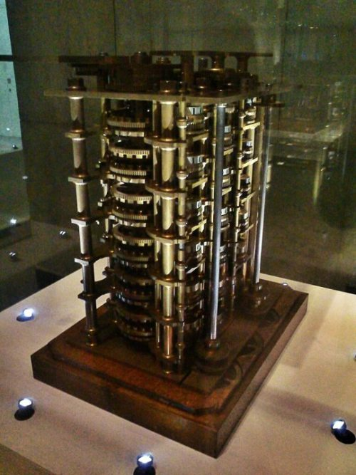 "iluigi:  Charles Babbage's ""Difference Engine"""