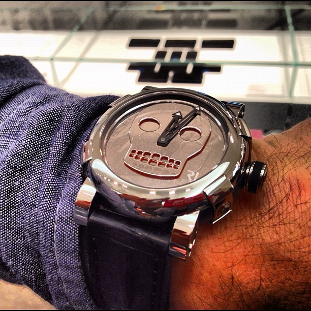 Watch ROMAIN JEROME. JOHN M. ARMLEDER ART-dna.Unique piece. #colette #colettestore #romainjerome #johmmarmleder