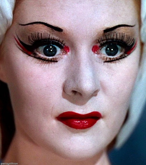"Moira Shearer Close Up in ""The Red Shoes"""
