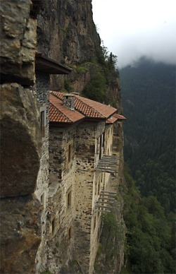 melinore:  The Sumela Monastery, Turkey