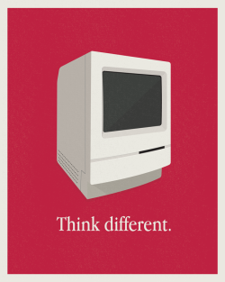 """Macintosh Classic Print"" by Simple as Milk"