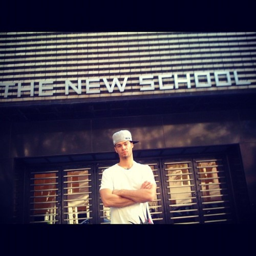 #throwbackthursday New York Citaaayyy 2009. Tha New School, but for how long? #imgettingold