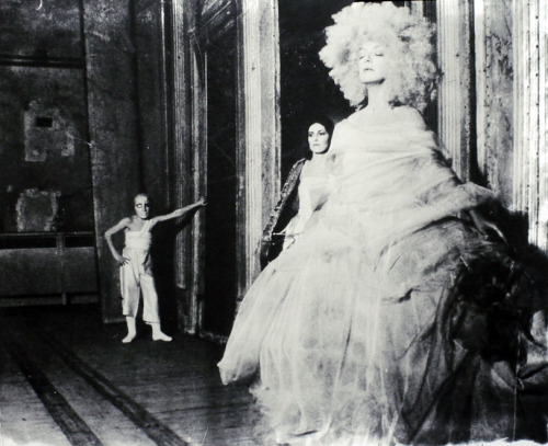 "speciesbarocus:  © Deborah Turbeville. From the ""Unseen Versailles"" series (1980s)."