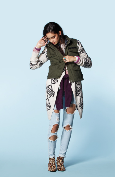 urbanoutfitters:  Layer Up For Fall