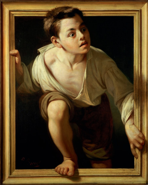 testchamber19:   Escaping Criticism, 1874, by Pere Borrell del Caso  #I'm laughing really hard at this   #what the fuck did you just say about my painting bitch?   #How bout you say it to my face and not a picture   #that's right I'm fucking real   #try criticizing this punch to the face I've got for ya