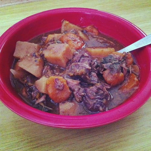Homemade beef stew #lunchbrag