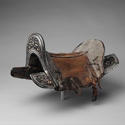 Saddle for Riders in the Vale  Tibet or Mongolia, 16th-18th centuryThe Metropolitan Museum of Art