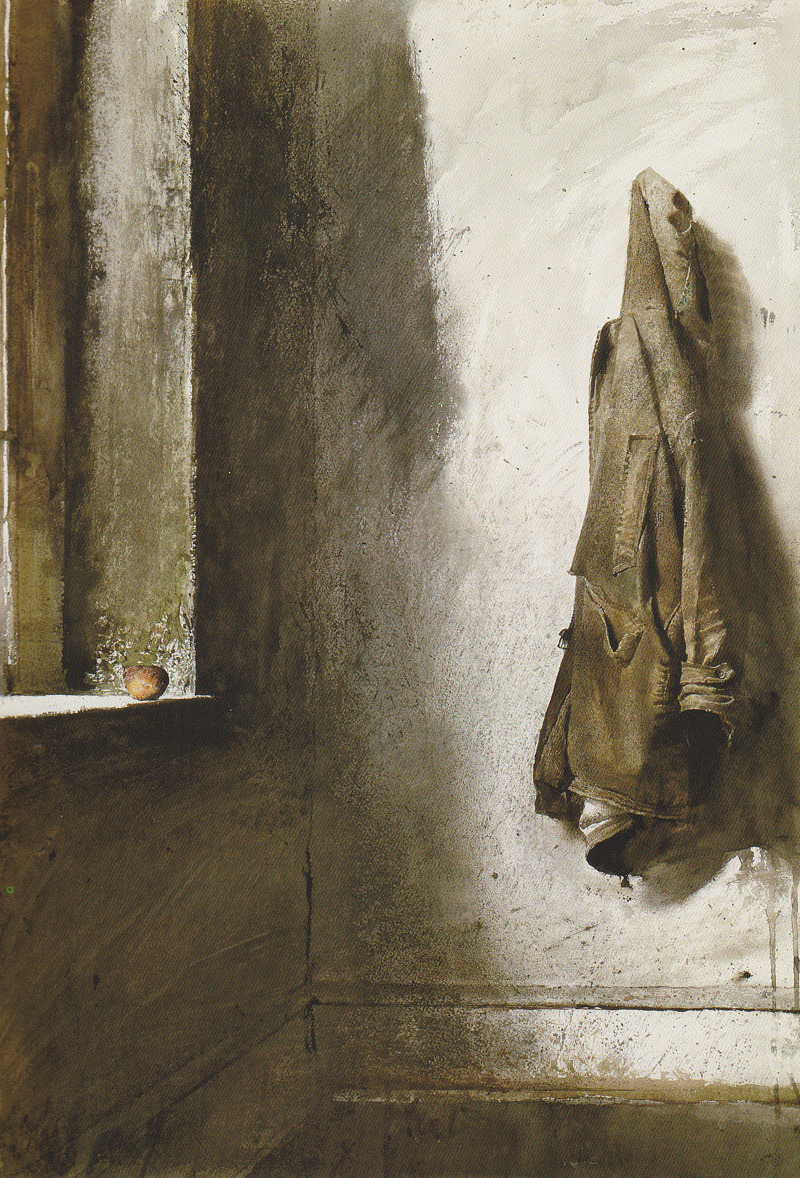 Andrew Wyeth, Willard's Coat, via Mister Crew.