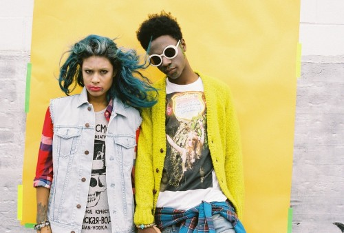 urbanoutfitters:    Halloween with Joey Bada$$ and Danii Phae / Photography by Bobby Whigham