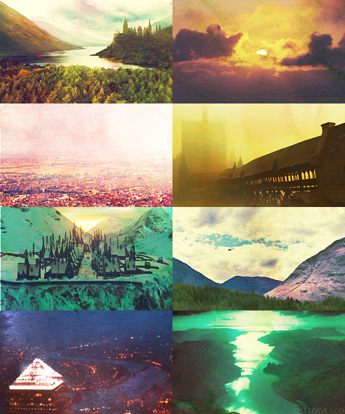 Beautiful scenery ➝ Harry Potter and the Order of the Phoenix