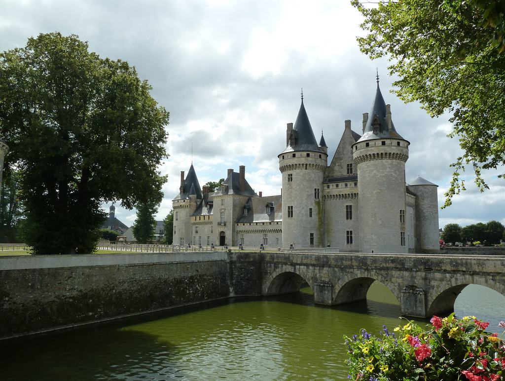 allthingseurope:  Château de Sully, France (by wally52)