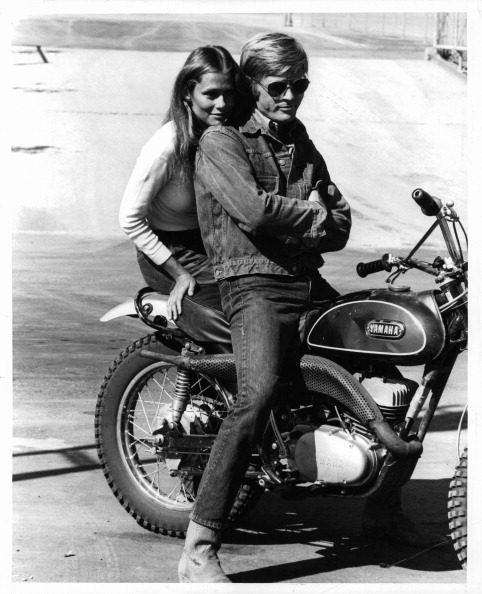lauren hutton + robert redford Little Fauss & Big Halsy, 1970