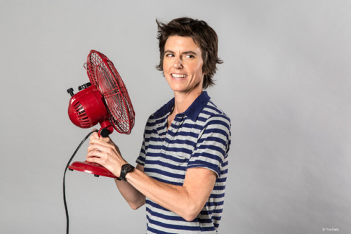 "huffpostcomedy:  The GQ&A: Tig Notaro On Her ""Embarrassingly Amazing Life"" In August Notaro delivered an off-the-cuff standup set about being diagnosed with breast cancer just days earlier, that earned instant praise from comedy bigwigs Louis CK and Ed Helms, who were at the show that night. (Their tweets: here and here.) Below an excerpt of our interview with her: GQ: Were you ever mad at the universe or fate or God, or whatever? Tig Notaro: No. No. Not in the slightest. GQ: How did you manage that? Tig Notaro: I've had an embarrassingly amazing life. Not that I was prepared to die, but I just thought of all the people that have suffered for their entire life—and then die. I've traveled the world, and been in love, and my career has exceeded my expectations. I didn't feel angry, because I have nothing to be angry about—it just happened. Anger just didn't make sense to me. [gq]  The world needs more Tig Notaros in it."