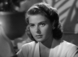 Ingrid Bergman in Casablanca | 1942