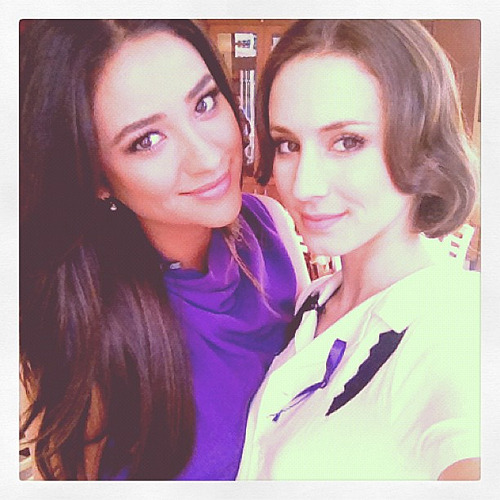 sleepinthegardn Celebrate Spirit day with me and @shaym wear purple if you got it.