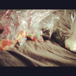 Candy, loose leaf tea, candy cane white hot chocolate all for $3.06! I love Bulk Barn #shoppersworld