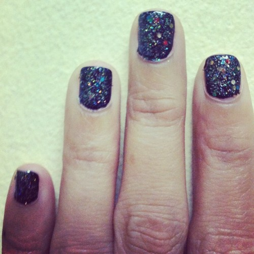 The Big Bang.💅💅💅 #nailpolish #nailart #glaze