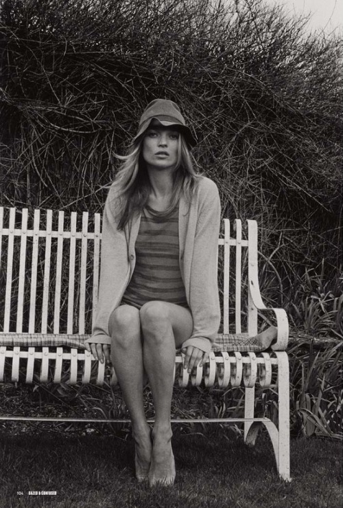 labellefabuleuse:  Kate Moss for Dazed & Confused, May 2007