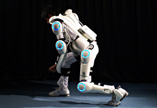 010101:  Cyberdyne Creates Mind-Controlled Robot Exoskeleton to Protect Fukushima Workers from Nuclear Radiation and to commit robotic murder that can be traced back to a foolish human.