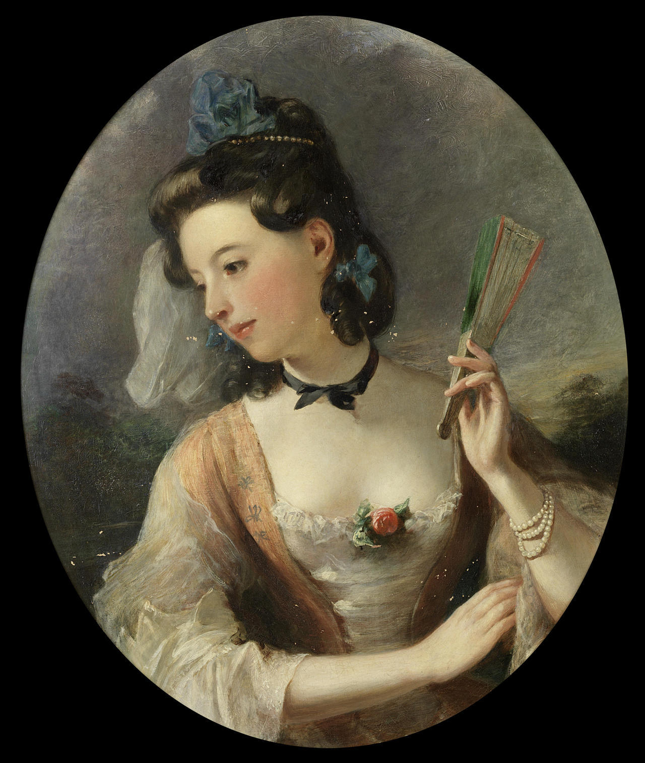 monsieurleprince:  Thomas Phillips (circle, 1770 - 1845) - Portrait of a lady