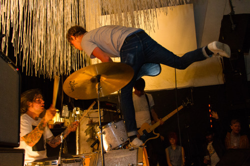 cmj:  CMJ has had an army of photographers capturing the action at shows across New York City for the duration of the 2012 CMJ Music Marathon. With more than 1,300 artists in over 80 venues, we've collected some of our best shots from the festival. From top left: Prince Rama by Lydo Le Ben Gibbard by Rebecca Smeyne Local Natives by Amanda Stockwell San Cisco by Amanda Stockwell Tom Lark by Jeff Meininger METZ by Violeta Alvarez Orwells by Clayton Carr Dum Dum Girls by Chris Becker Crowd at Vice & Noisey showcase by Greg Shotti Morgan Ex Deo by Al Rossin
