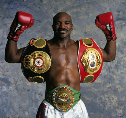Evander Holyfield turns 50 today