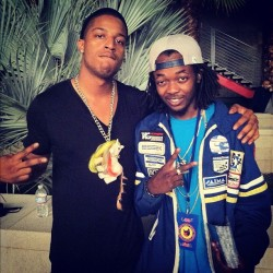 #SEEN ::  @t0bywankenobi wearing my #PONY2012 chain w/ @MikeGKTA . #handmade #withlove by #NikkoGray & @AnnMarieHoang . coming soon to @MaricelaMarcel .