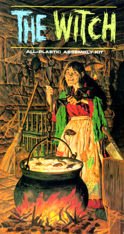 The Witch model kit (1965)