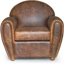 bohemianhomes:  Bohemian Homes: Leather chair  Una silla para leer? <3