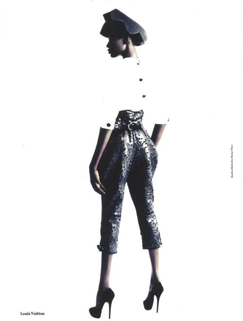 Ajak Deng by Paolo Roversi for Another Magazine F/W 2011