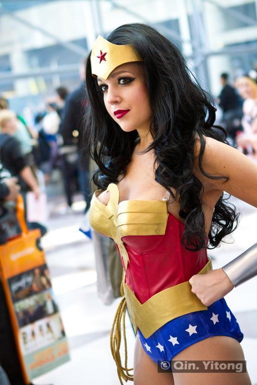 My Wonder Woman costume I (Nicole Marie Jean) made for NYCC 2012.