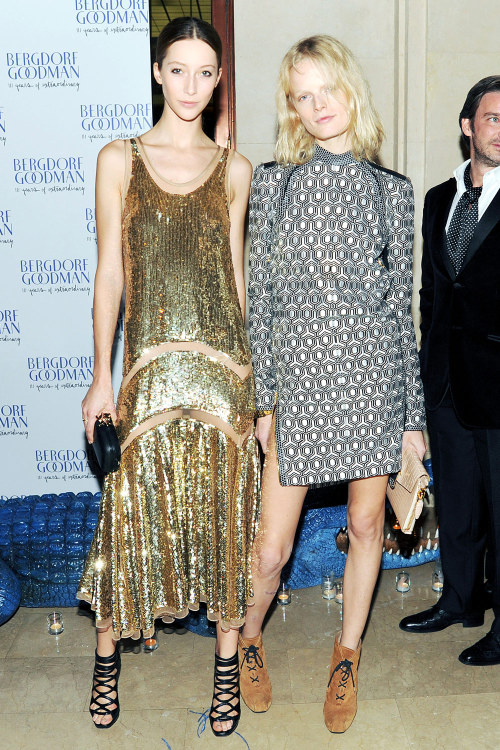 bergdorfgoodman:  Alana & Hanne.  Photo credit: BFA