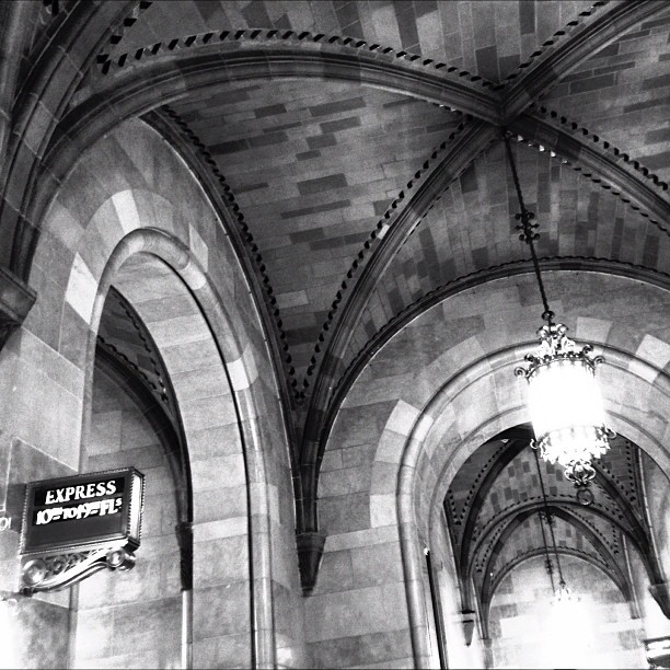 Classic NYC vaulted architecture. (at One Park Avenue (33rd street))