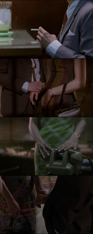 moviesinframes:  Fa yeung nin wa (In the Mood for Love), 2000 (dir. Wong Kar-Wai)By quello-nello-specchio  Just discovered this film and it shows up on my feed… what are the chances.